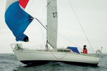 ALBIN VEGA: En maken båt som Jarle Andhøy seilte til Antarktis med, en Albin Vega, kan du få for kr 29 000.