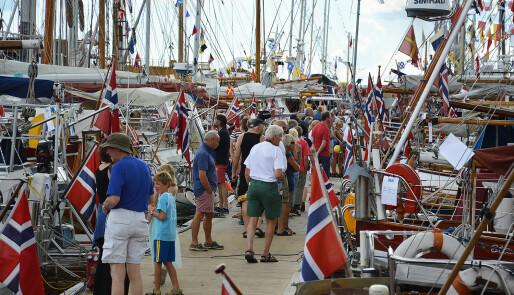 200 gamle båter samles i Haugesund
