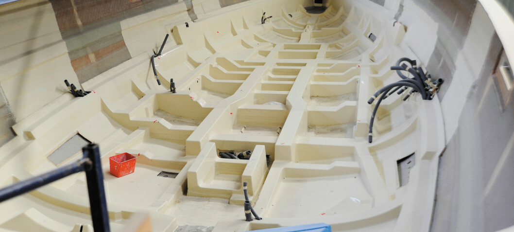 Hevder at båten er trygg med produksjonsfeil