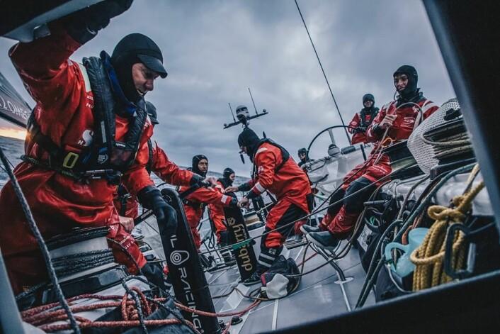 RÅDLØSE: Mannskapet på «Scallywag» har ikke avgjort hva de vil gjøre etter å ha nådd land i Chile.