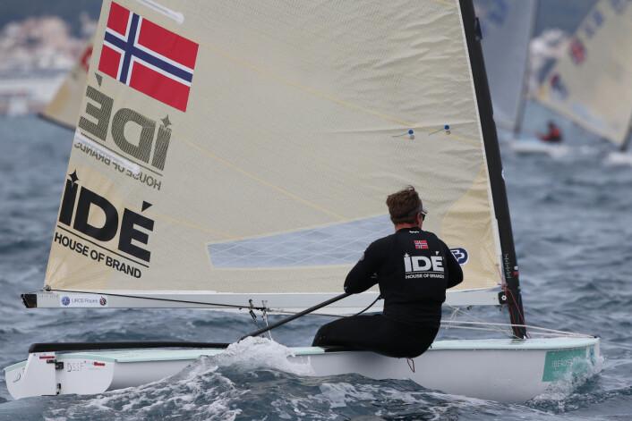 Anders Pedersen i fin flyt.