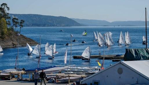 250 joller på Lysakerfjorden