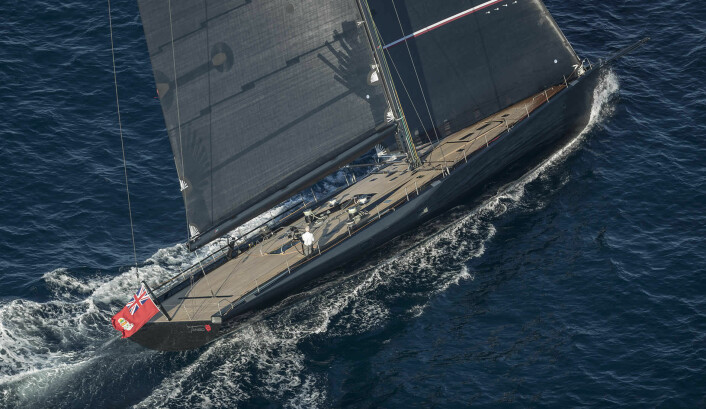 WALLY: «Tango» er den nyeste båten i Wally Cento-klassen hvor skroglengden er 100 fot.