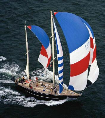 De to «Flyer» med Conny van Rietschoten ble legendariske i Whitbread Round the World Race
