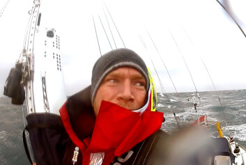 EKSTREMT: Erik Aanderaa har gjort seiling til ekstremsport.