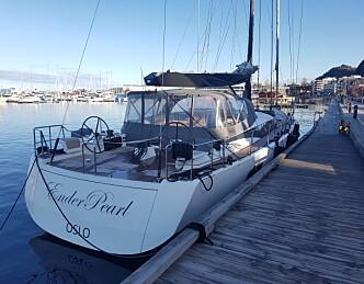 Oppsiktsvekkende båt i HH Skagen Race