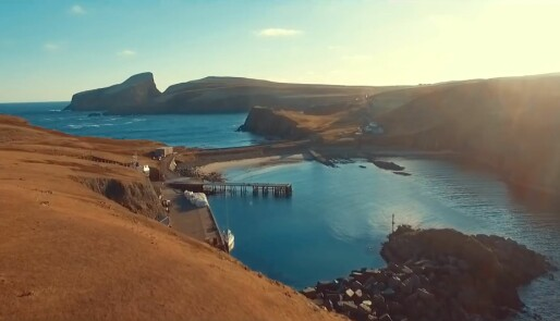 Solotur til Fair Isle på film