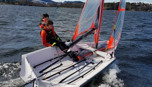 Norske seilere i vinden