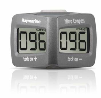 LOVLIG: Et digitalt kompass kan nå brukes i Laser-klassen.