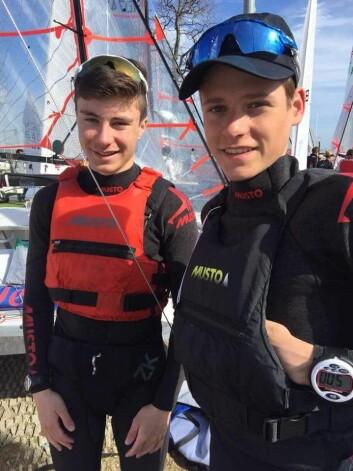 Mathias Berthet og Alexander Franks Penty