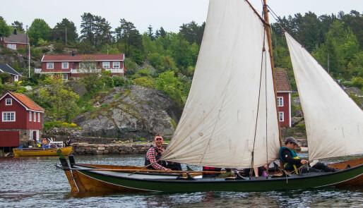 Ungdomscamp i tradisjonsbåter