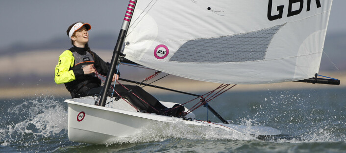 RS Aero, mulig jentebåt i mixed klasse