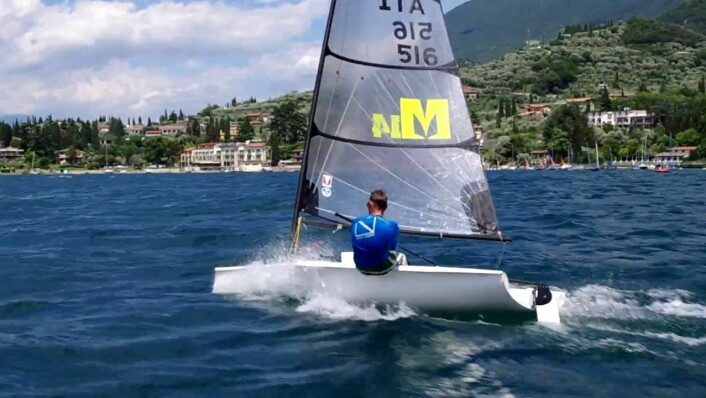 Melges 14, mulig jentebåt i OL