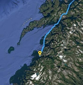 TRACKING: Helgelandskysten venter Magne Klann.