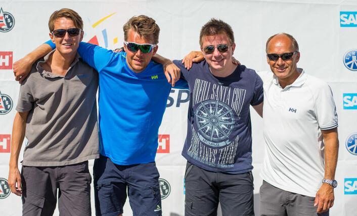 NR. 5: Arendals Seilforening er tippet til å ende på 5. plass i årets eliteserie.