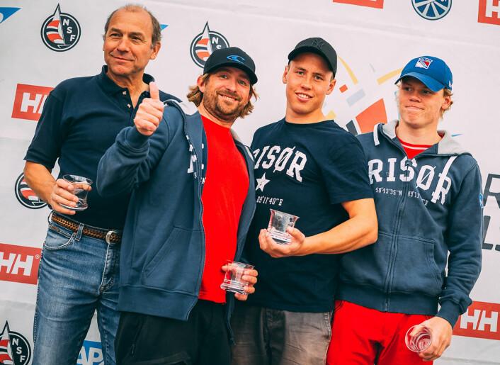 NR.10: Risør Seilforening er tippet på en 10. plass i årets eliteserie.