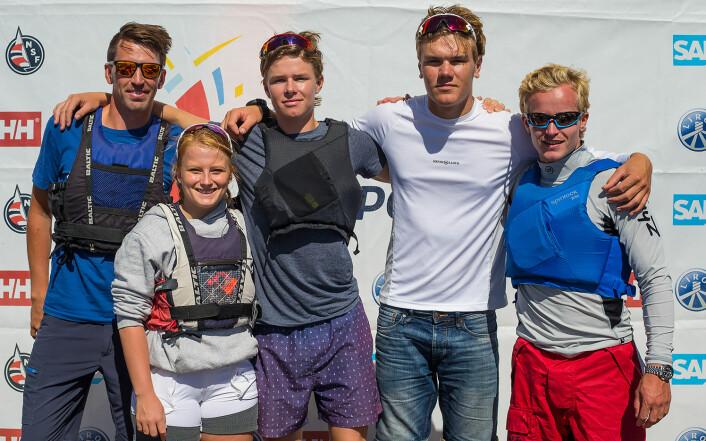 NR. 7: Tønsberg Seilforening er tippet på en 7. plass i årets eliteserie.