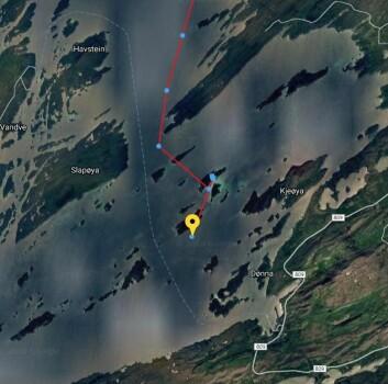 IDEELT: Tusenvis av øyer og skjær gjør Helgelandskysten ideelt for å seile jolle.