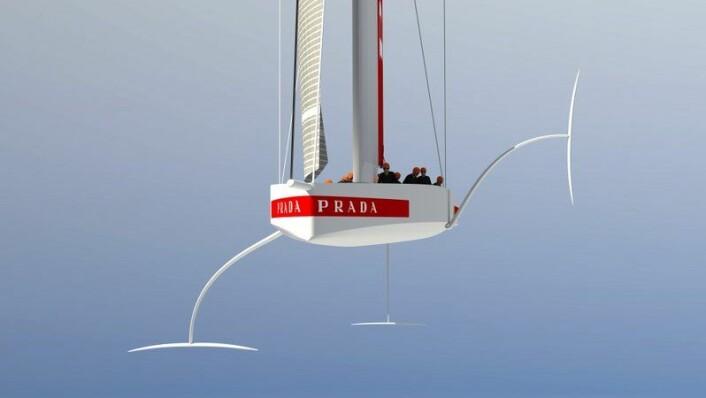 Den nye America's Cup båten