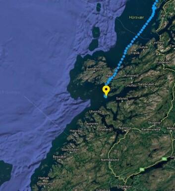 ØYRIKE: Etter å ha seilt mellom tusenvis av øyer, skifter landskapet karakter. heldigvis er det meldt lite vind på det beryktete kyststrekket.