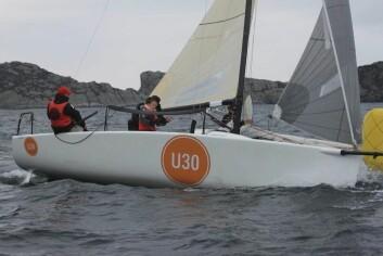 UNGDOM: Melges 24 U30 lånes ut til yngre seilere.