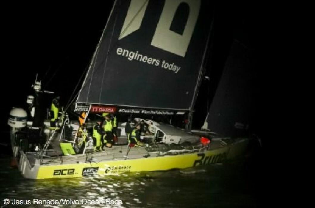 «Brunel» vant etappen og er nå favoritt til å vinne hele Volvo Ocean Race.