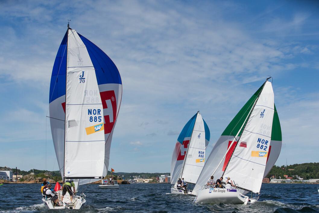 RYKKER UT: Tre seilforeninger rykker ut av 1. divisjon. Nå har konkurrentene pekt ut hvem det blir.