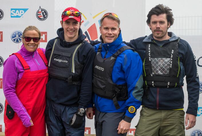 NR. 13: Kragerø Seilforening har en bevisst strategi bak sin deltagelse i seilsportsligaen.