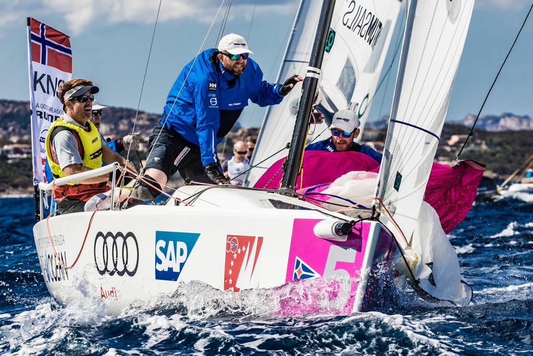 MOSS I SEMIFINALE: Denne gangen er det Moss Seilforening som skal representere de norske fargene i Sailing Champions League.