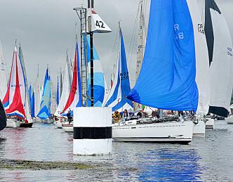 600 båter til Færder'n, håper på 700