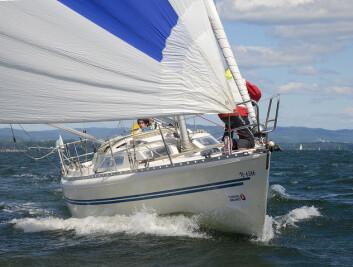 ENKELT: TurGLEDE-klassen har fått flere til å seile Færderseilasen.