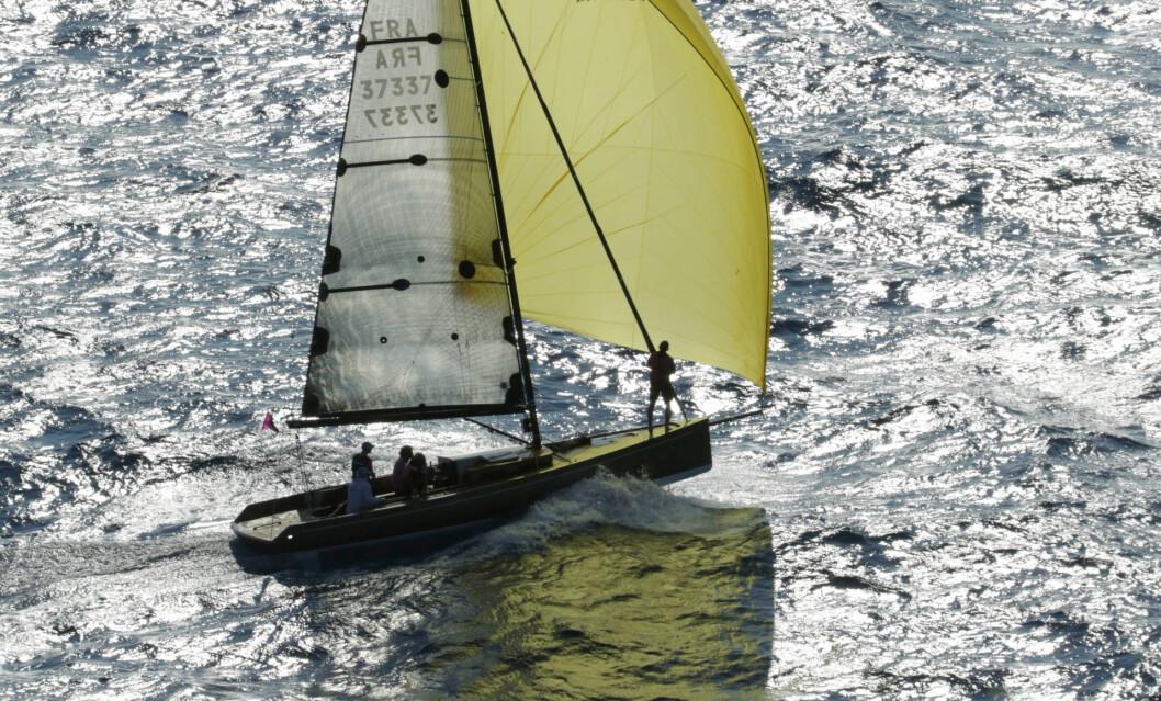 LETT: Code 0 fra Black pepper er en av flere oppsiktsvekkede nye båter til Færdern.