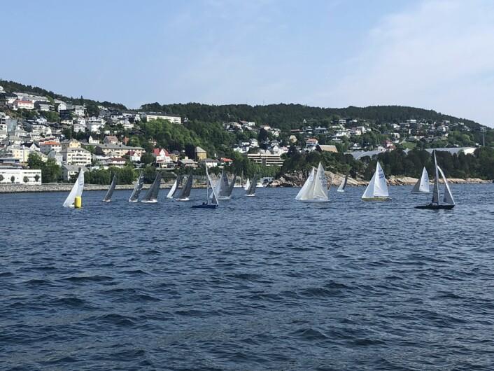 NM: Det deltok 30 båter i regattaen, som samlet deltagelse fra en rekke seilforeninger langs store deler av kysten, og et par fra Sverige. Kun norske deltagere kan konkurrere om NM-medajene.