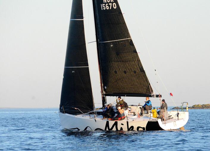 RASK: JPK 1080 er optimalisert for IRC, og vunnet det meste. Båten blir farlig under Nor Rating også.