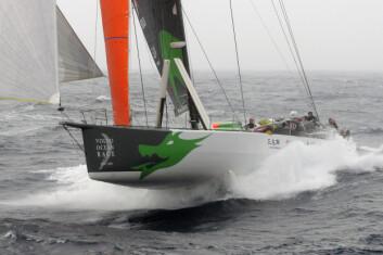 RASK: «Green Dragon» trenger litt vind for å få utnyttet fartsegenskapene. Det spørs om det blir i Færdern.