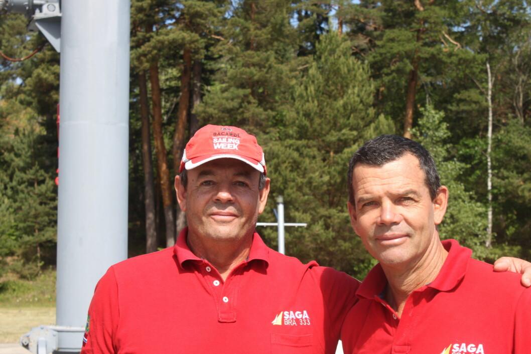 Seilerbrødrene Lars og Torben Grael.