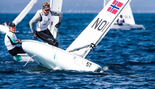 Sist i finalen, først i regattaen