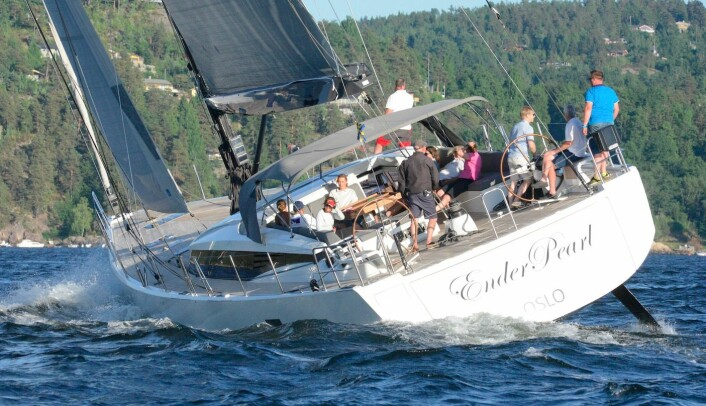 RASK: 76-fots EnderPearl seiler raskere enn det meste, og vil mest sannsynlig vinne Tur-klassen.