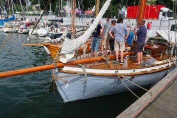RASK: Colin Archer Venus er Norges første lystbåt.