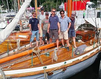 Norges eldste regattabåt raskest igjen