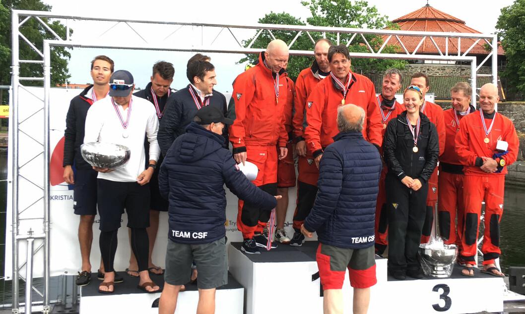 15 ÅR: Kristoffer Spone og laget hans har vunnet atskillige NM-triumfer, men i Melges 24 er det 15 år siden sist.