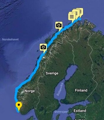 NESTEN: Klann er i sitt 47-døgn siden start på Nordkapp. Nå er det kun en, eller to etapper igjen.