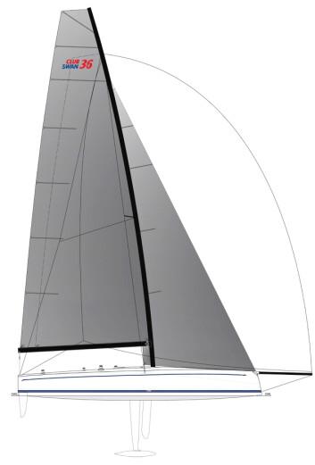 EKSTREM: ClubSwan 36 får en enorm rigg, foiler og elmotor, men ingen innredning.