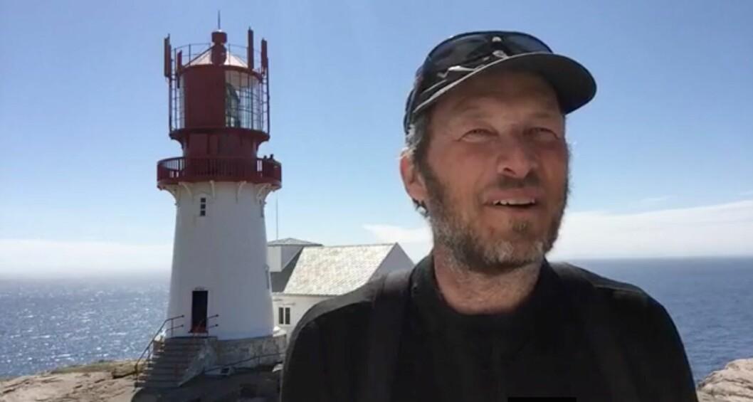 LINDESNES: Magne Klann har seilt Norge på langs i en liten seiljolle