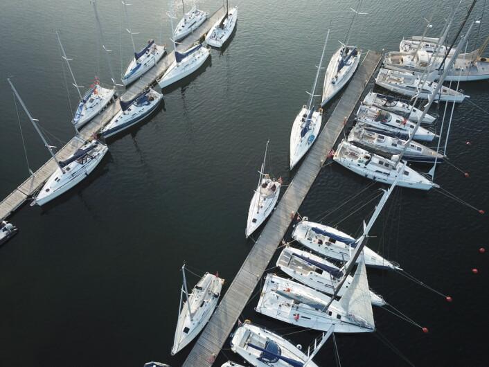 HANKØ: Raymarine 2Star båtene samles på bryggene til Hankø Yacht Club