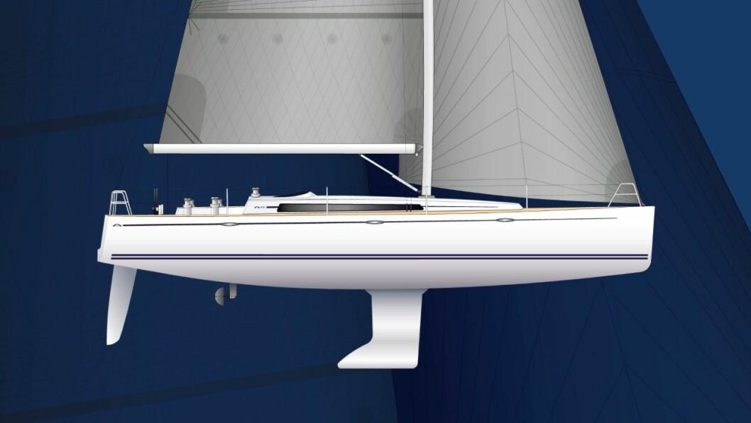 NY: Arcona 435 skal seile alt til sommeren, og bygges i Uddervalla.