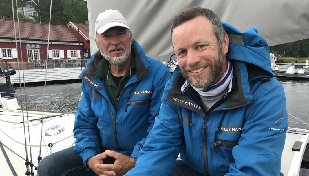 DOBBELT I TET: Yngve (t.h) og Asbjørn Lønmo er nummer en og to på SEILmagasinet shorthanded-ranking når sesongen nå går inn i siste fase..