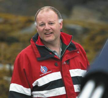LEDER: Sportling leder Peter L Larsen  i Ålesund seilforening.