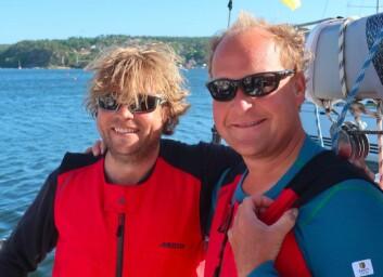 VANT: Magnus R. Tvete og Are Eklund vant den store klassen med First 40.7 «Firstlady».
