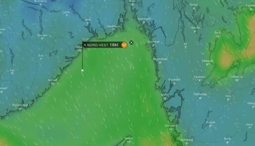 Siste etappe via Norge